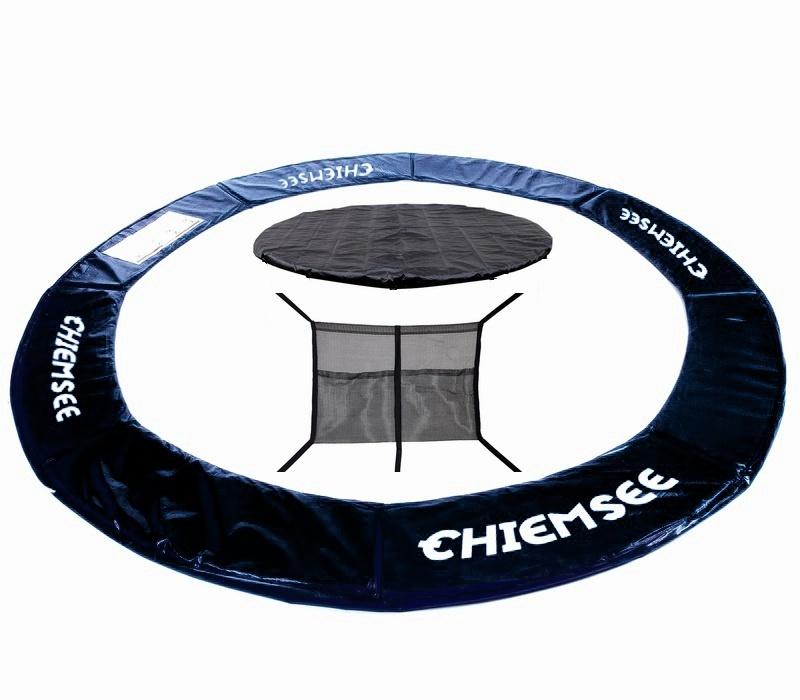 Chiemsee rugótakaró + takaróponyva + zsák a cipőre 500 cm Black
