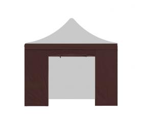 Aga oldalfal ajtóval PARTY 3x3 m Brown