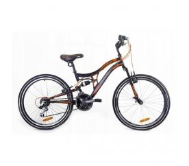 """Goetze Adventure férfi hegyi kerékpár 26"""" fekete - narancs"""