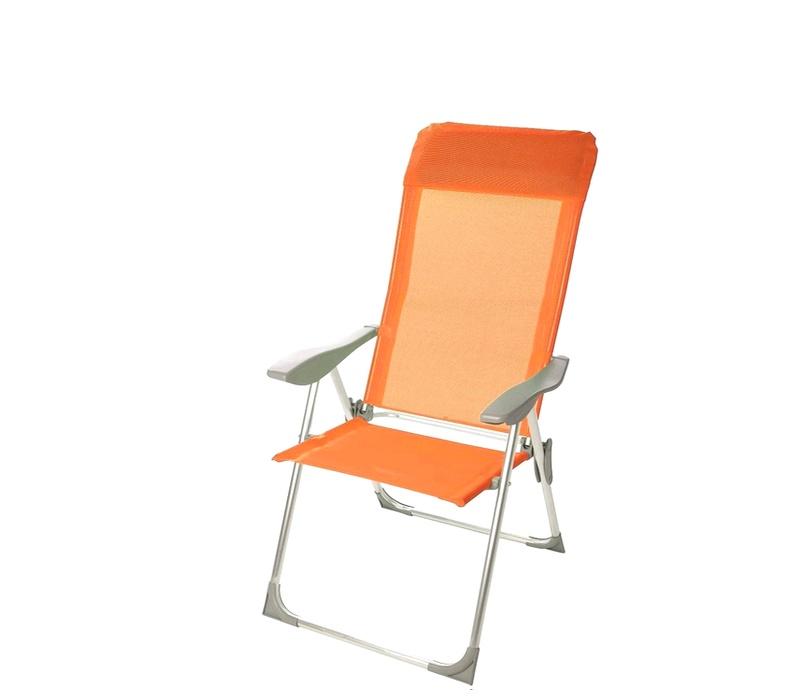 Linder Exclusiv Záhradné kreslo 5-WAY MC372211O Orange