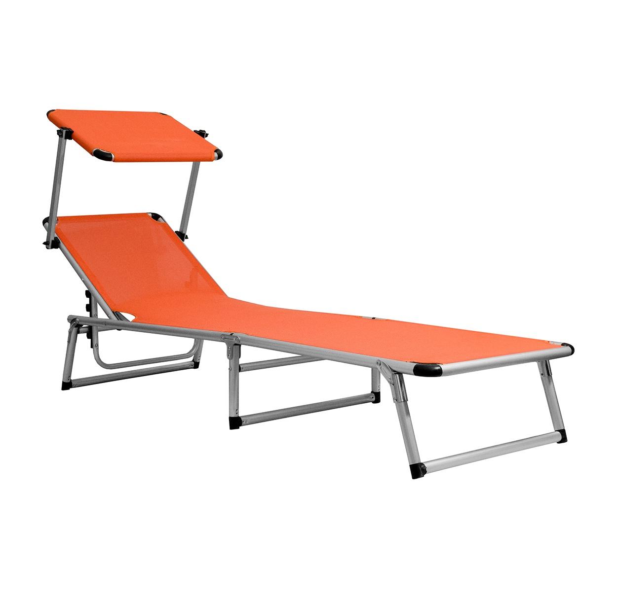 Aga Zahradní lehátko GARDEN KING MC372310O Orange