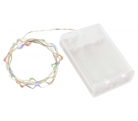 Linder Exclusiv Řetěz na baterie 30 LED  Barevná
