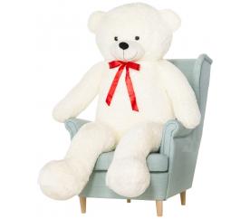 Aga4Kids Plyšový medvěd 160 cm Bueno White
