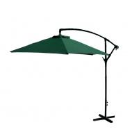 Aga Zahradní slunečník EXCLUSIV BONY 300 cm Dark Green