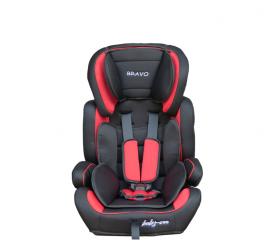 Baby Coo autosedačka BRAVO Black Red