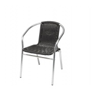 Linde Exclusive kerti rattan szék Bistro MC4601