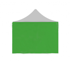 Aga Ściana boczna do namiotów PARTY 2x2 m Green