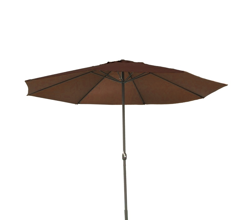 Aga Slnečník CLASSIC 300 cm Dark Brown