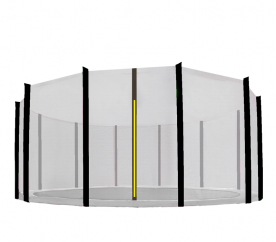 Aga Ochranná sieť 400 cm na 12 tyčí Black net / Black