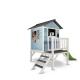 Axi Cedrowy domek ogrodowy LODGE-XL Blue