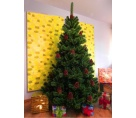 Umelý vianočný stromček - Borovica svetlozelená 150 cm
