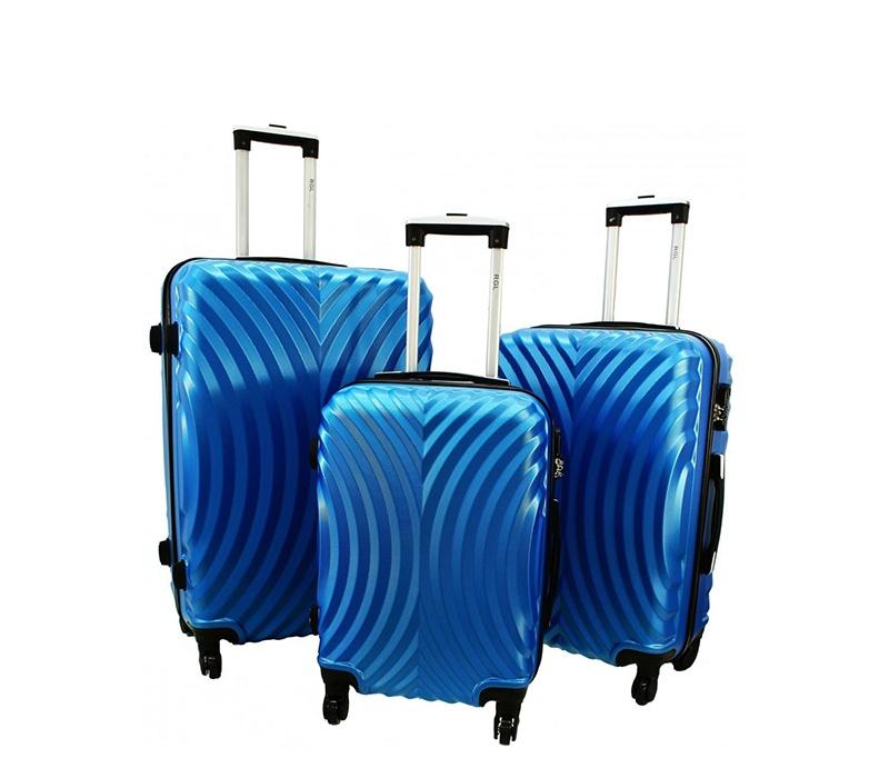 RGL Cestovní kufry HC760 XXL,XL,L Barva: Blue