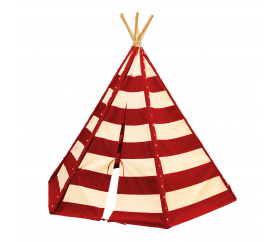 Axi gyerek teepee sátor Tent Lumo Red