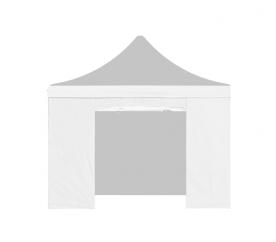Aga Bočnice s dveřmi POP UP 3x3 m White