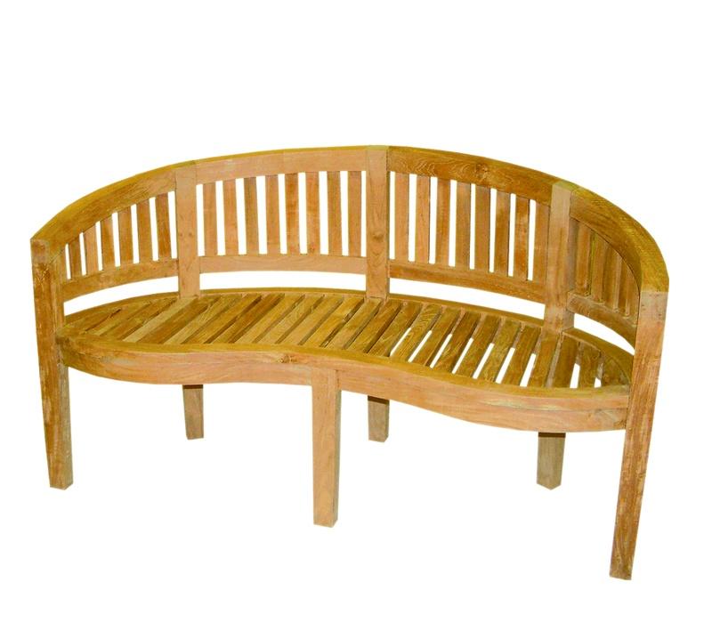 Linder Exclusiv Zahradní lavice BANANA B15 150 cm