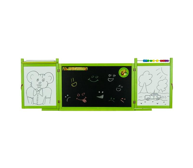 Aga4Kids Detská tabuľa WINDOW GREEN TS3