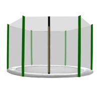 Aga Ochranná sieť 305 cm na 6 tyčí Black net/ Dark Green