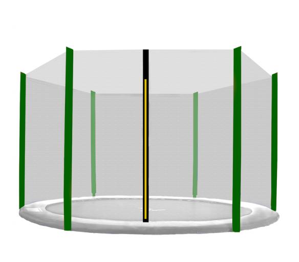 Aga Ochranná síť 305 cm na 6 tyčí Black net/ Dark Green