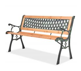 Linder Exclusiv Zahradní lavice MC4365 125x52x74 cm