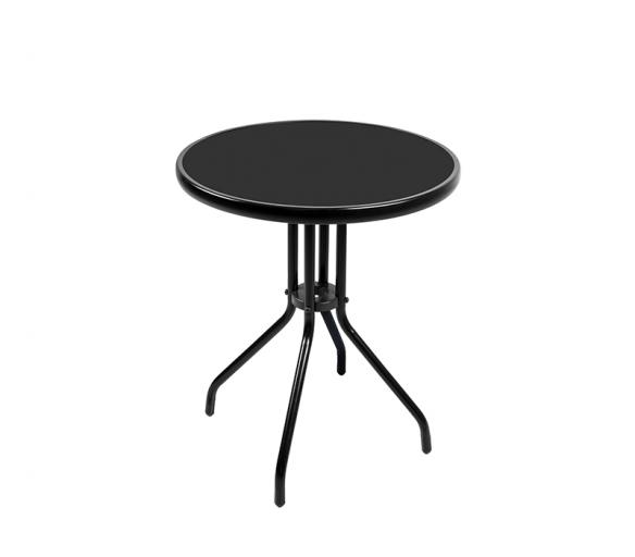 Aga Szklany stół ogrodowy MR4352A 70x60 cm