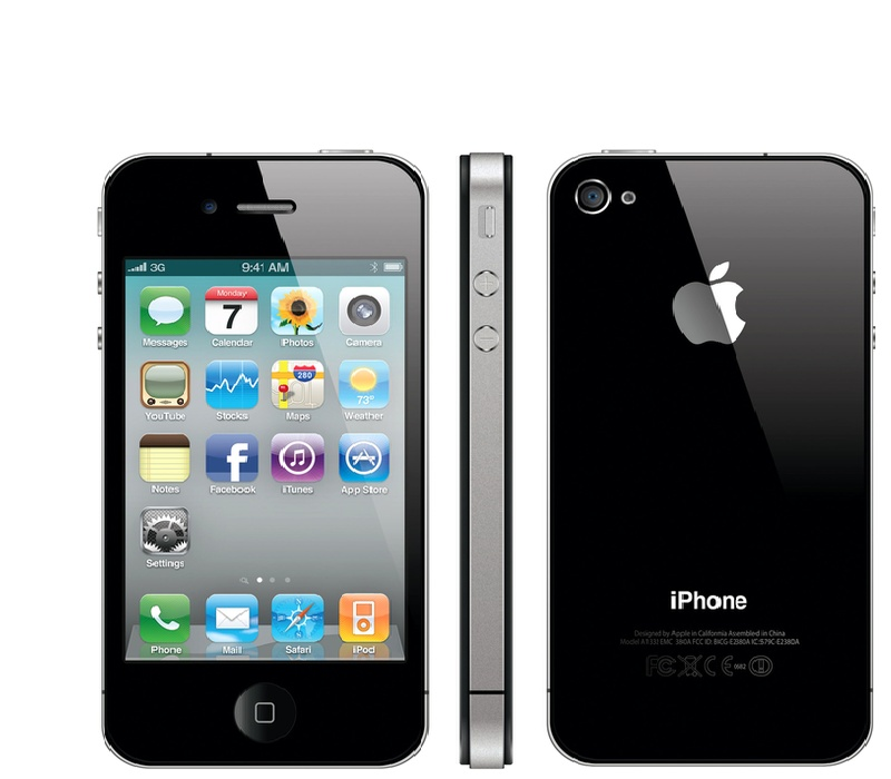 Apple iPhone 4S 16GB Black Kategorie: B
