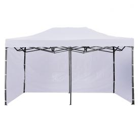 Aga kerti sátor 3S 3x6 m White