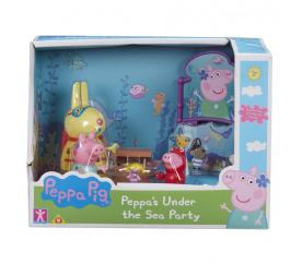 Prasátko Peppa sada Svět pod vodou - 3 figurky a doplňky