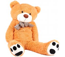 Aga4Kids Plyšový medveď MR13003F 130 cm Svetlo hnedý