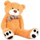 Aga4Kids Plyšový medvěd MR13003F 130 cm Světle hnědý