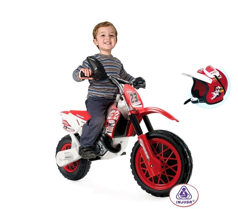 Injusa Elektrická motorka MOTO CROSS CR