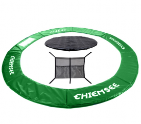 Chiemsee Kryt pružin + Plachta + Kapsa na obuv 430 cm Green