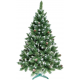 Aga Vánoční stromeček 160 cm s šiškami