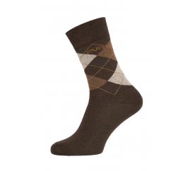 Versace 19.69 Ponožky BUSINESS 5-Pack Brown-Beige (C174)