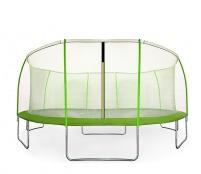Aga SPORT FIT Trampolína 430 cm Light Green + vnútorná ochranná sieť