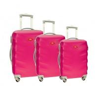 RGL Cestovní kufry HC6881 XXL,XL,L Barva: Pink