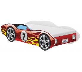 Wooden Toys Dziecięce łóżko Corvette 140x70 cm Red