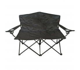 Linder Exclusiv Dwumiejscowe Krzesło turystyczne rybackie ANGLER MC2505 Black