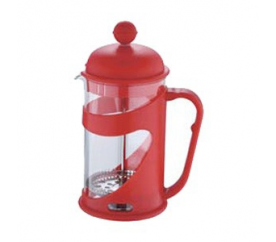 Konvička na čaj a kávu French Press 800 ml červená - Renberg