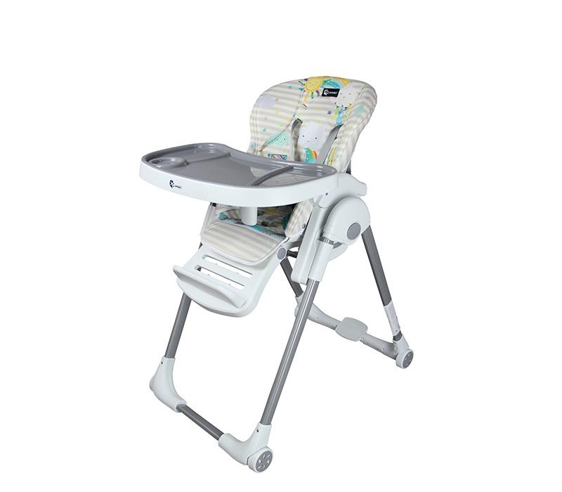 Clamaro Jídelní židlička Grey