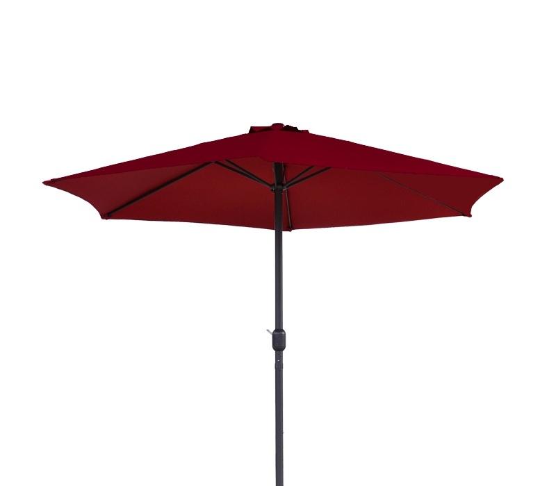 Aga Slnečník CLASSIC 400 cm Dark Red