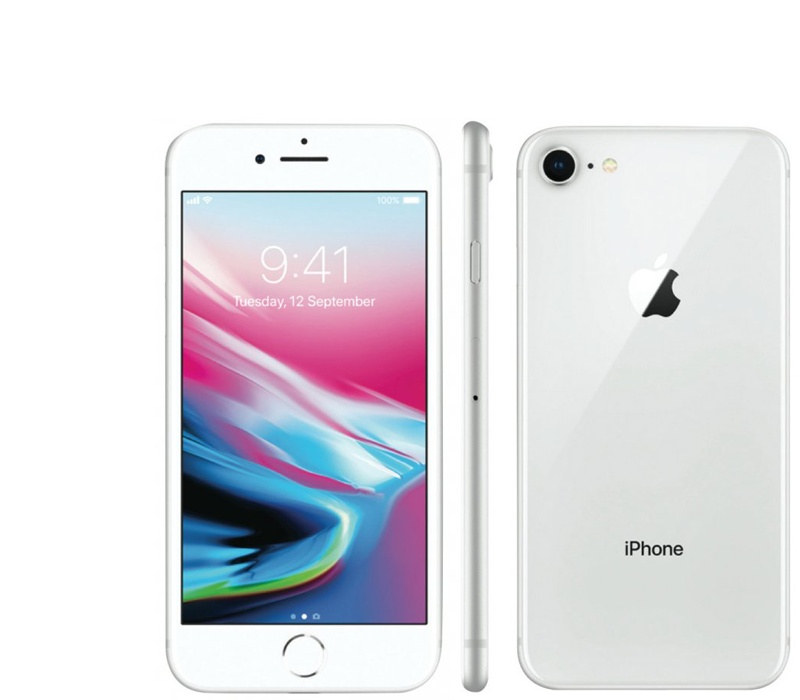 Apple iPhone 8 64GB Silver Kategorie: A