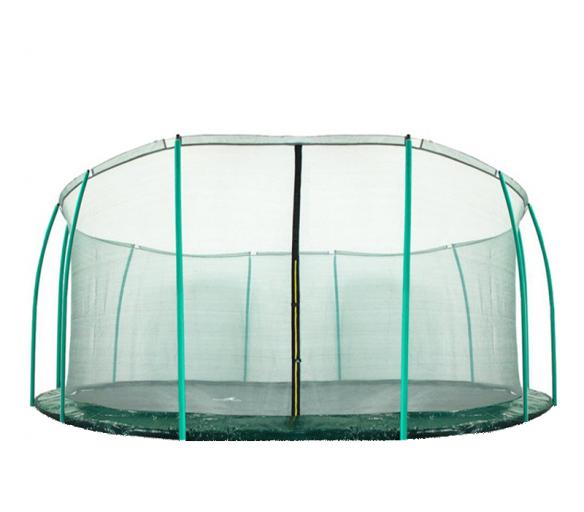 Aga Vnitřní ochranná síť 488 cm na 12 tyčí Dark Green (kruh)