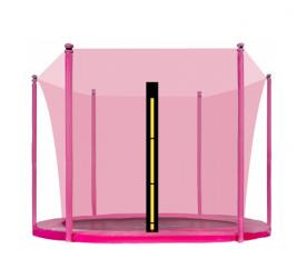Aga belső védőháló 180 cm 6 oszlopos trambulinra Pink