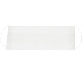 Aga Ochranná rouška bílá z tissue papíru 100 ks