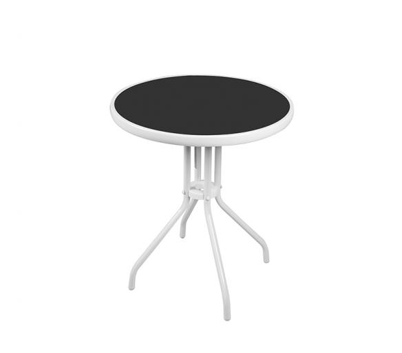 Aga Szklany stół ogrodowy MR4352W 70x60 cm