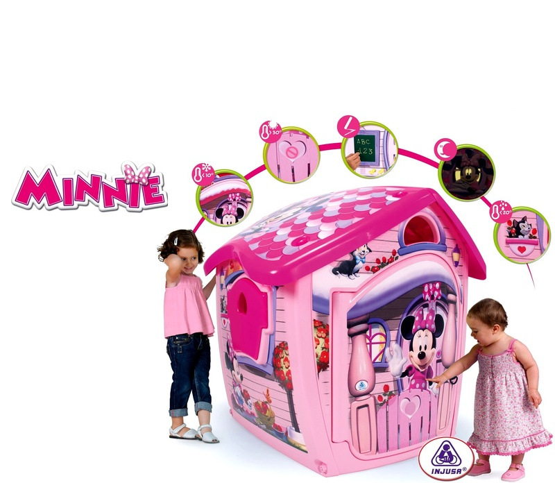 Injusa Hrací domeček MAGICAL HOUSE MINNIE BOW-TIQUE