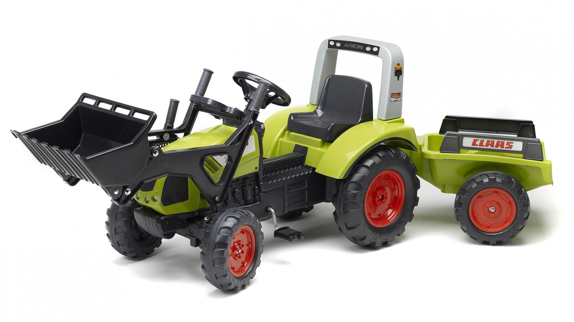 Falk Šlapací traktor FARM KING 950X 1040AM s vlečkou