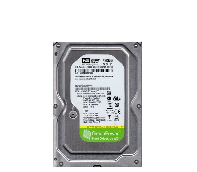 WD Pevný disk WD10EURX 1TB 64MB