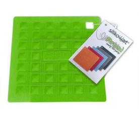 Mata silikonowa do naczyń - zielona - Silikomart