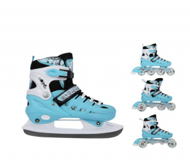 Nils Extreme Detské korčule 4v1 NH10905 Mint